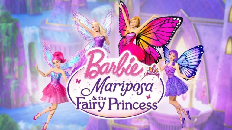 Barbie Mariposa & the Fairy Princess (2013) Dual Audio [Hindi+English] Bluray 1080p x264, 720p & 480p ESub